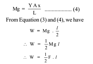 Strain Energy: Meaning, its expression, and numerical problems